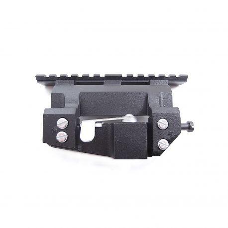 Сверхнизкопрофильный боковой кронштейн с планкой Weaver, универсальный, 40 мм