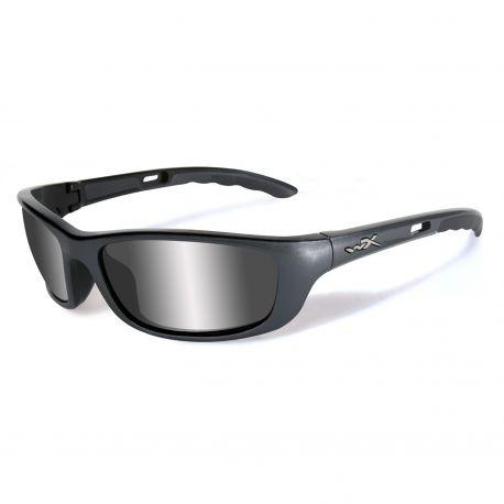 Серебристые защитные очки Wiley X P-17T