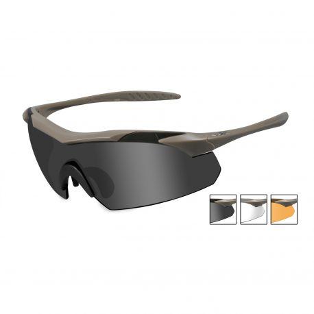Очки для стрельбы с диоптриями Wiley X VAPOR 3512