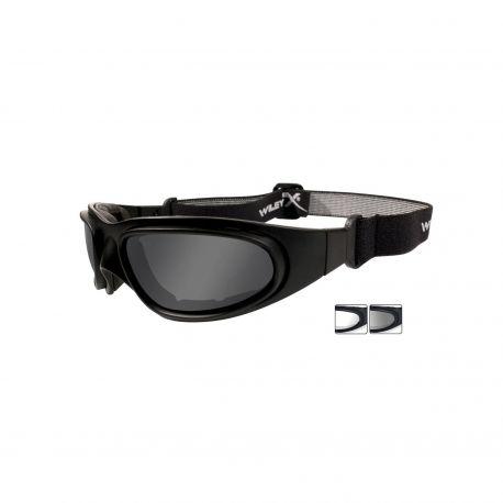Защитная маска очки с двумя сменными линзами Wiley X SG-1 71