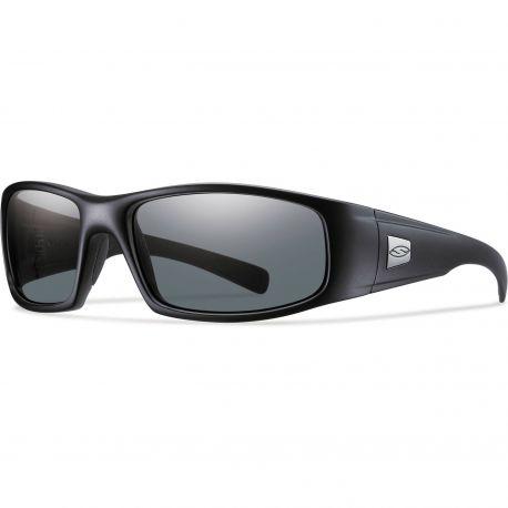 Легкие поляризованные тактические очки Smith Optics HIDEOUT HDTPPGY22BK