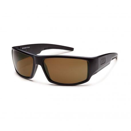 Коричневые поляризационные очки для водителя Smith Optics LOCKWOOD LWTPPBR22BK